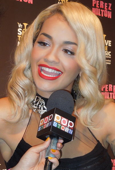 Rita Ora  by Neon Tommy