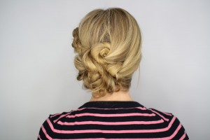 Easy Knotted Updo Complete
