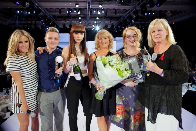 Karen Storr, Contemporary, Middlesborough, winner L'Oréal Colour Trophy People's Choice Award 2014
