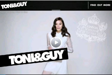 TONI&GUY How to: Create Teased Waves