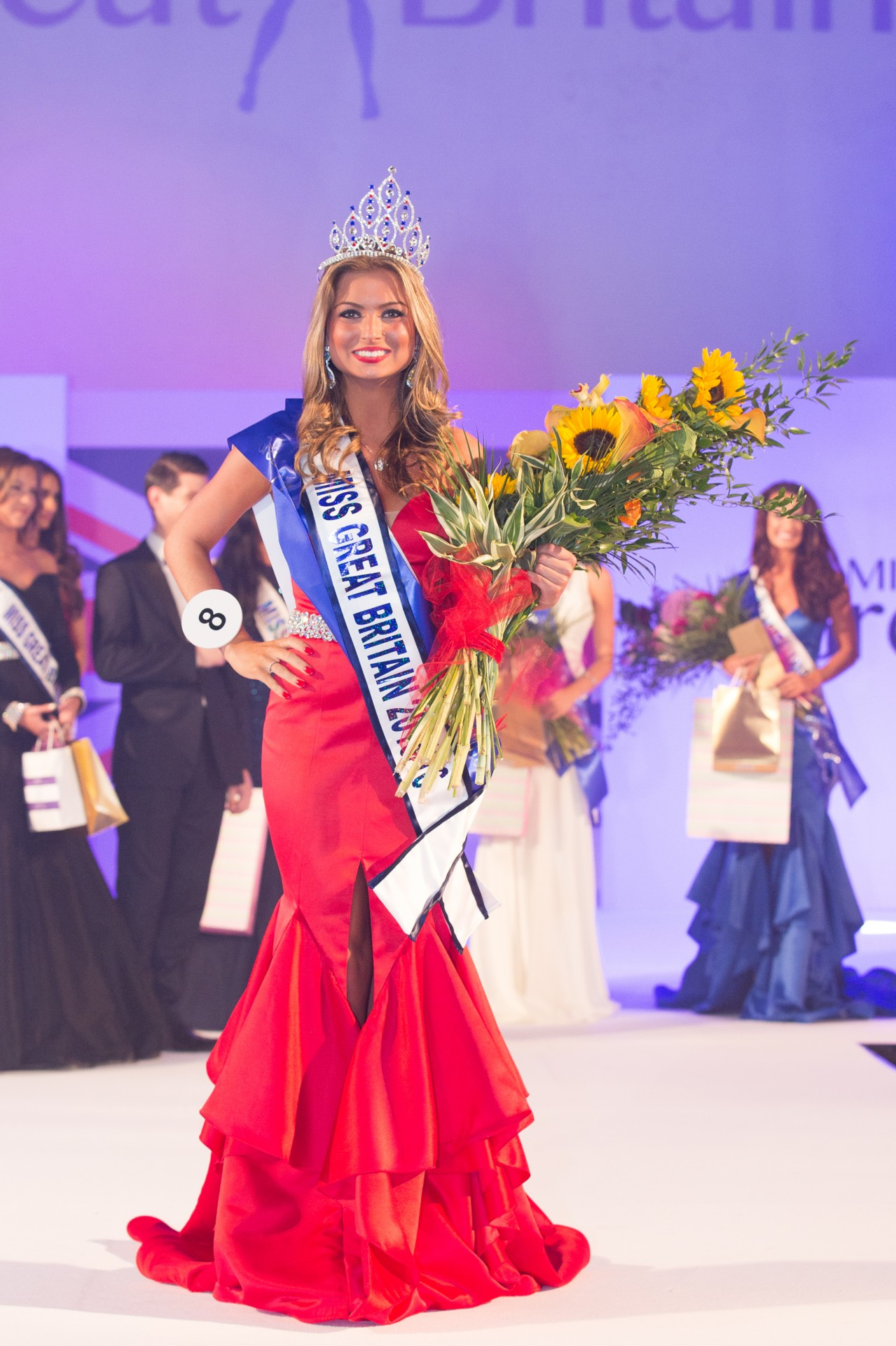 Zara Holland as Miss Great Britain