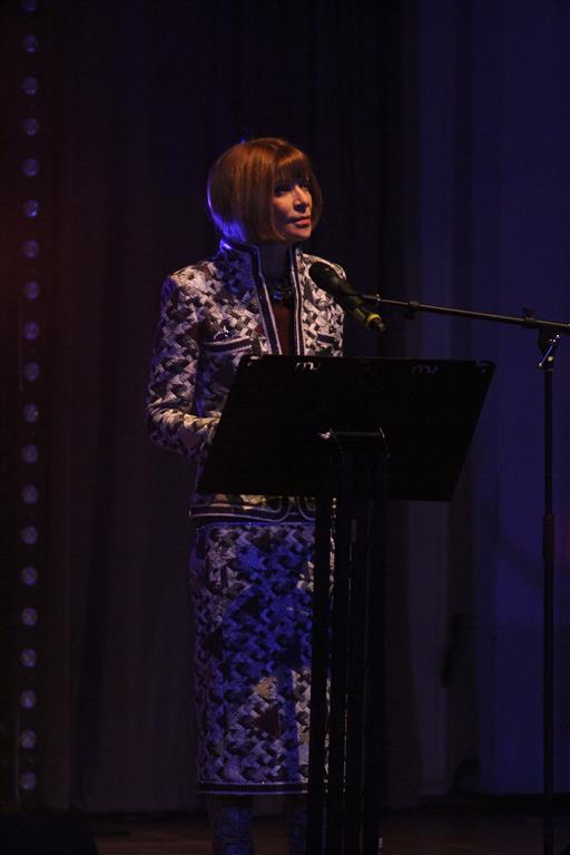 Anna Wintour (photo: James Hostford)