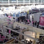 350 stands at Olympia Beauty Show