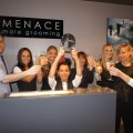 Menace, best male grooming salon 2011