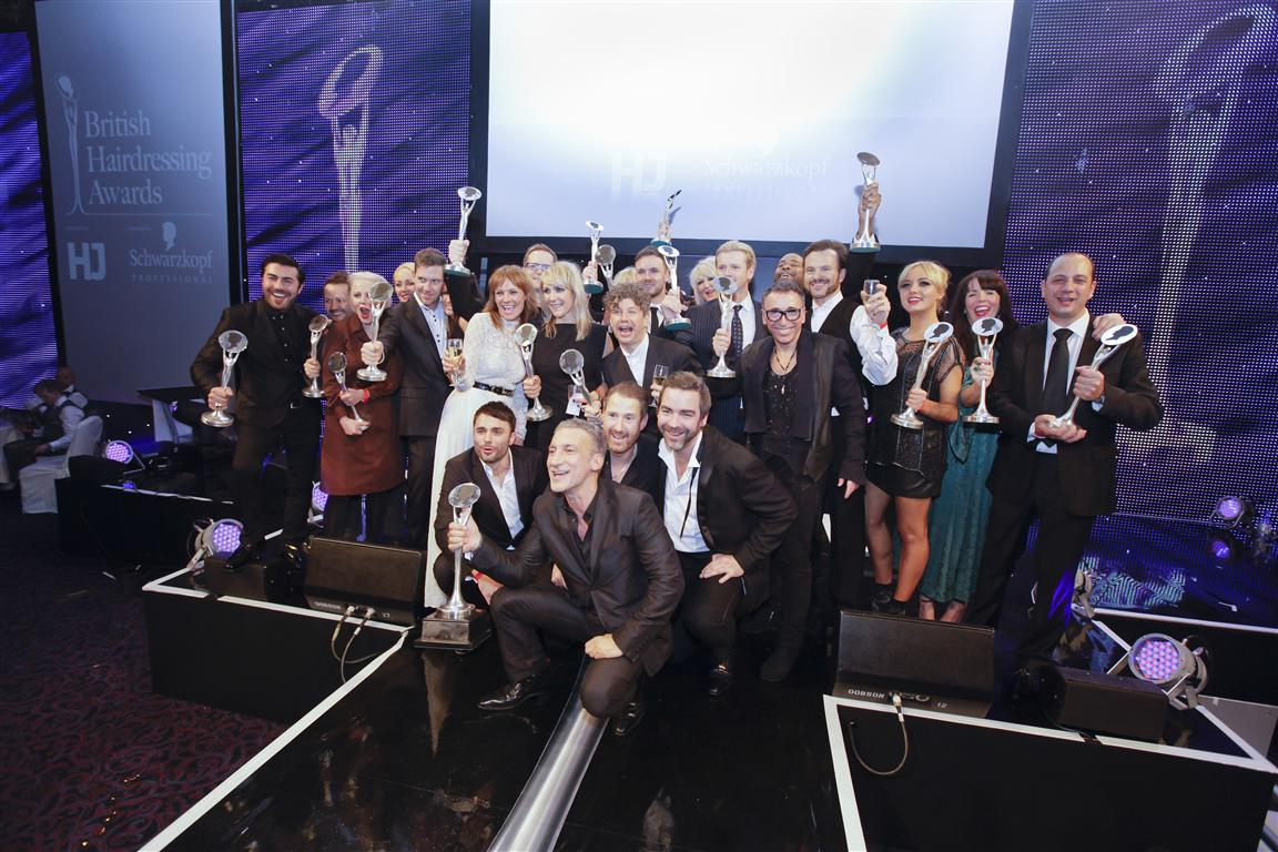 The Winners of the 2011 British Hairdressing Awards