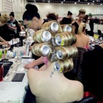 Competition student going crazy with drinks can rollers