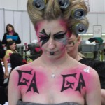 Lady Gaga model for Makeup competion