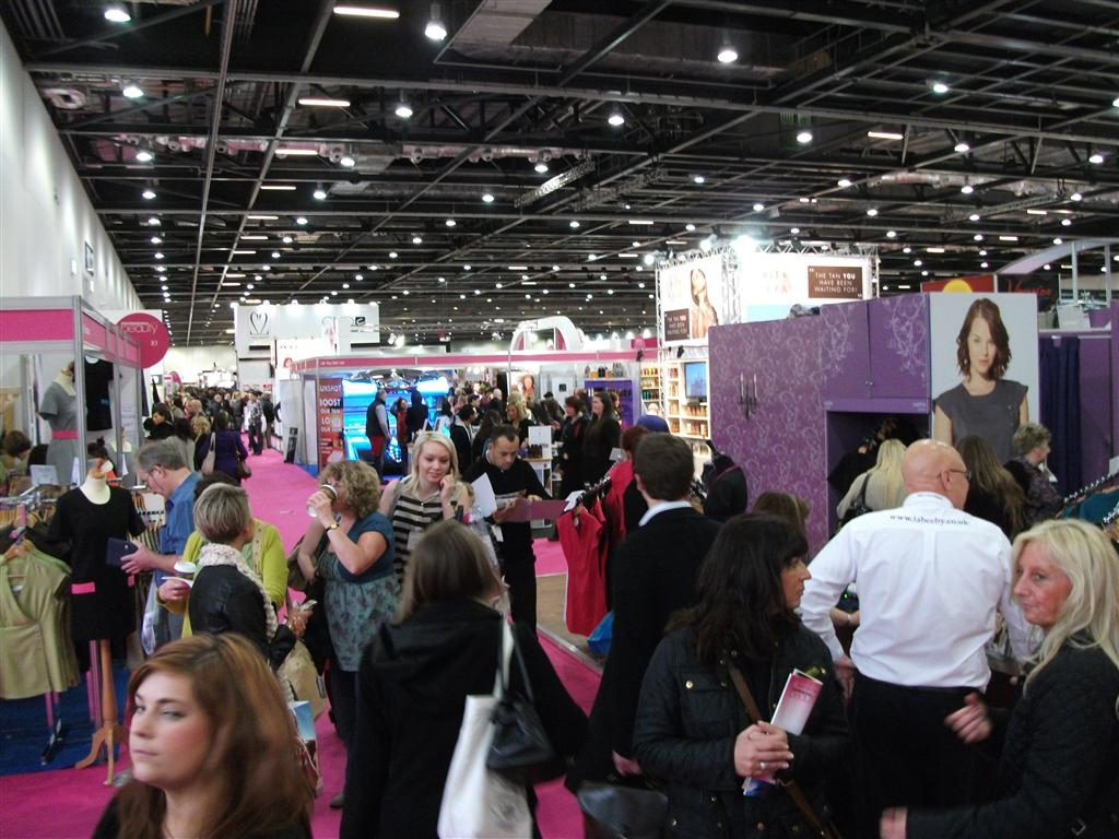 Crowds at Professional Beauty show