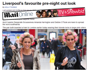 Sleep-In Rollers mentioned in The Daily Mail