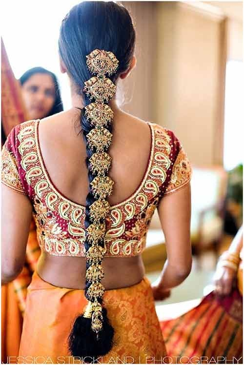 10 Indian Bridal Hairstyles Hairdressing