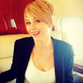 Jennifer Lawrence and her new pixie cut
