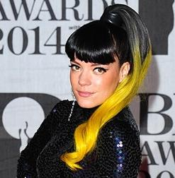 Lilly Allen at the BRITS 2014