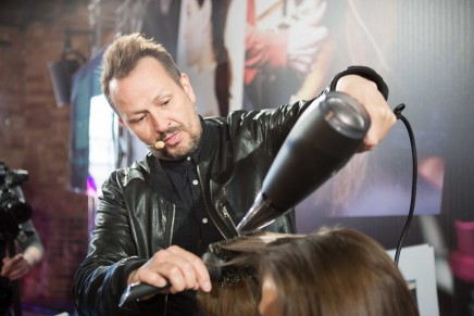 The busiest man in hairdressing?