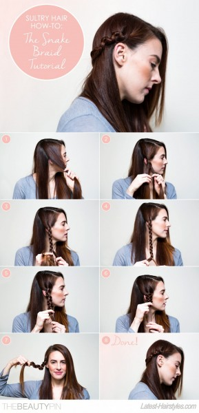 The Snake Braid Hair Tutorial