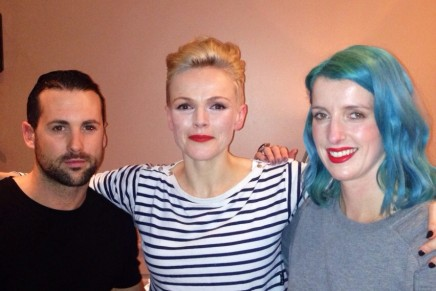 Maxine Peake gets red carpet ready at Neville