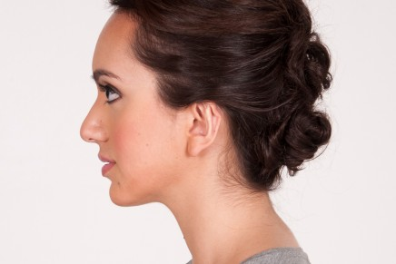Best Oscars Hair + Twisted Tousled Updo How-To