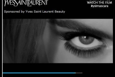 Cara Delevigne & YSL False Lash Effect Mascara