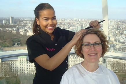 Shortage of trainee hairdressers