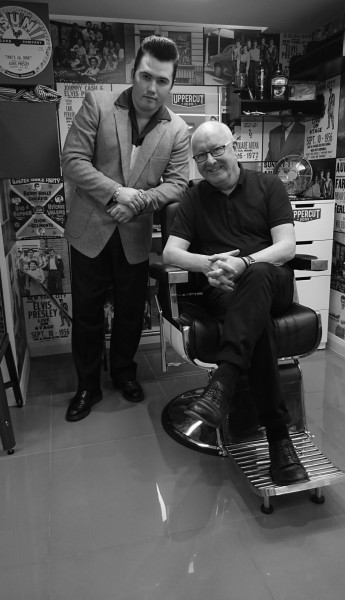 Returning to his family's roots, The Trevor Sorbie Barber Shop is Trevor's newest addition to the award winning salon group.