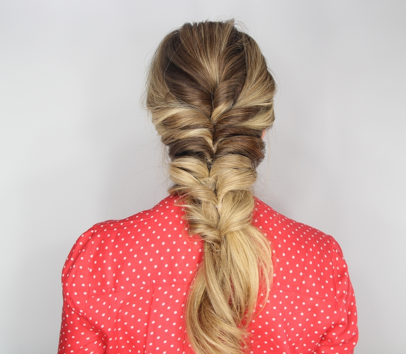 Stacked Topsy Tail Braid