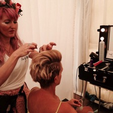 Festival pop-up salon