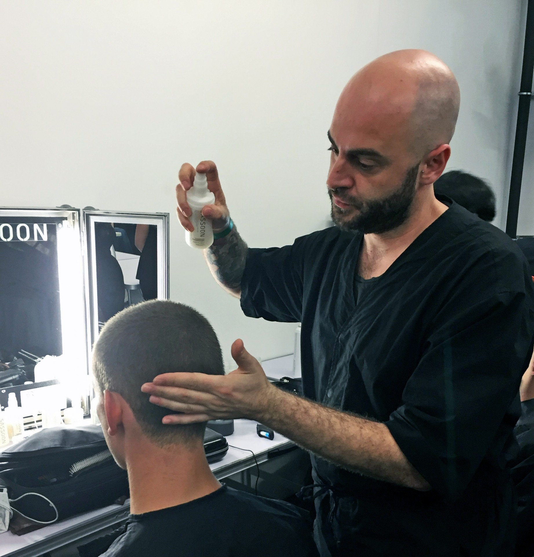 Sassoon at YMC SS17_Team Leader Alessio