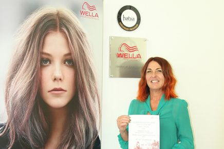 Hair tutor earns top colouring title