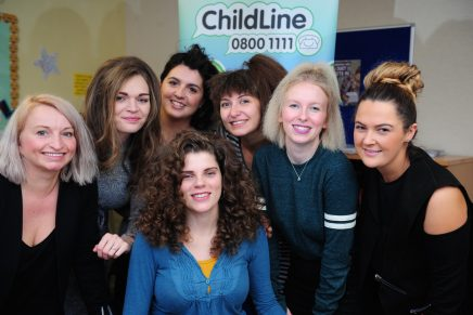 KH Hair and Childline Pop Up Salon