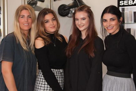 Two new apprentices for growing Worcestershire hair salon