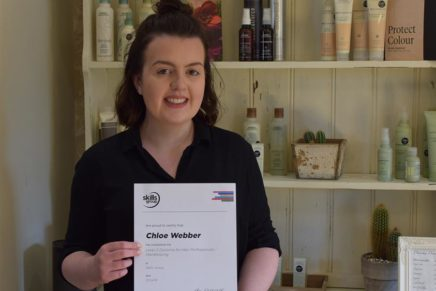 First to pass new hair qualification