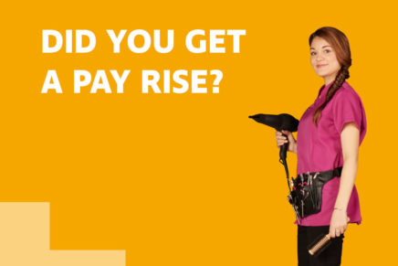 Women twice as likely to not query pay with employer